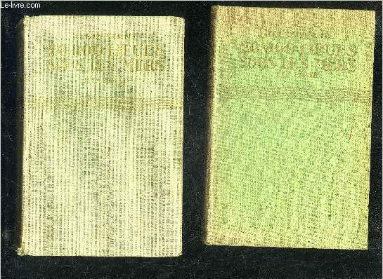 20 000 LIEUES SOUS LES MERS - 1ER PARTIE + 2E PARTIE - COLLECTION BIBLIOTHEQUE VERTE.