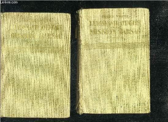 L'ETONNANTE AVENTURE DE LA MISSION BARSAC - 1ERE PARTIE + 2EME PARTIE - COLLECTION BIBLIOTHEQUE VERTE.