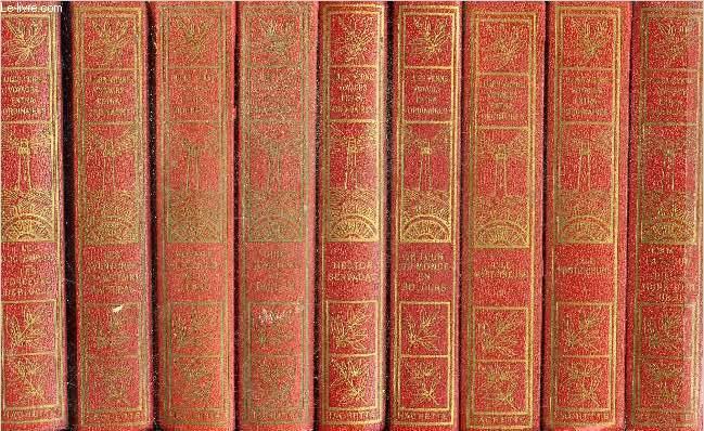 LOT DE 16 VOLUMES DE JULES VERNE DE LA COLLECTION VOYAGES EXTRAORDINAIRES - VOIR NOTICE- COMPLET.