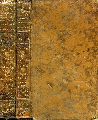 METAMORPHOSES D'OVIDE TRADUCTION NOUVELLE AVEC LE LATIN A COTE - NOUVELLE EDITION - EN DEUX TOMES - TOMES 1 + 2 .