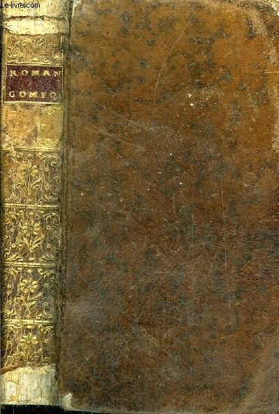ROMAN COMIQUE - NOUVELLE EDITION - PREMIERE PARTIE + DEUXIEME PARTIE EN UN VOLUME.