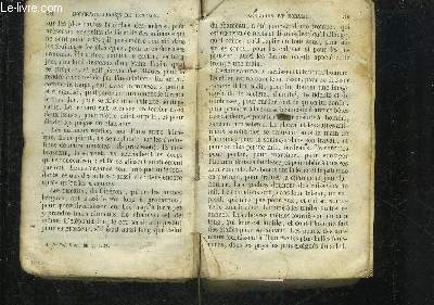 MORCEAUX CHOISIES DE FENELON RELIGION ET MORALE.