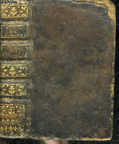 COMMENTAIRE LITTERAL SUR LA SAINTE BIBLE CONTENANT L'ANCIEN ET LE NOUVEAU TESTAMENT INSERE DANS LA TRADUCTION FRANCOISE - TOME QUATRIEME SEUL.