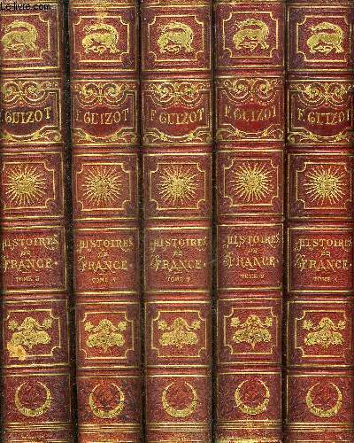 L'HISTOIRE DE FRANCE DEPUIS LES TEMPS LES PLUS RECULES JUSQU'EN 1789 RACONTEE A MES PETITS ENFANTS.