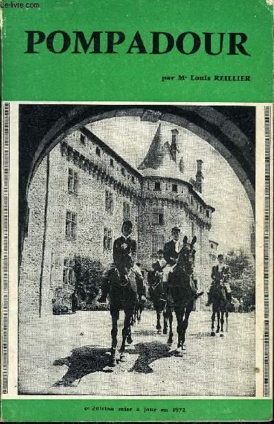 POMPADOUR - 4E EDITION MISE A JOUR EN 1972.