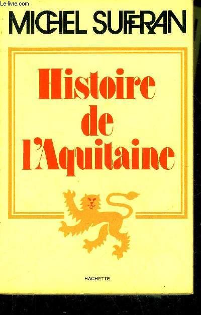 HISTOIRE DE L'AQUITAINE.