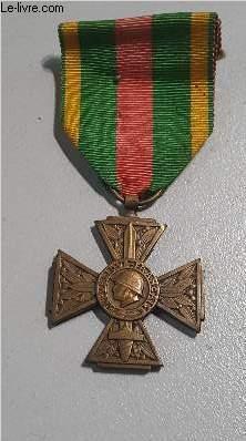 CROIX DU COMBATTANT VOLONTAIRE DE LA GUERRE 1914-1918.