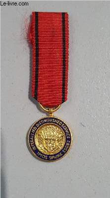 MEDAILLE MINIATURE INTERALLIED DISTINGUISHED SERVICE CROSS - IMOS SPHINX - FOR YOUR AND OUR FREEDOM.