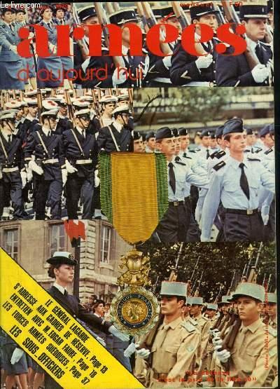 ARMEES D'AUJOURD'HUI N° 40 MAI 1979 - Un centurion se souvient rencontre avec le général Bigeard  - l'Académie un supplément d'identité entretien avec M.Edgar Faure - le compte de commerce construction de casernements - l'inspection du matériel naval etc.