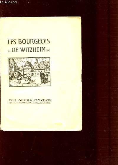 LES BOURGEOIS DE WTZHEIM