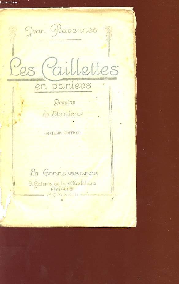 LES CAILLETTES EN PANIERS