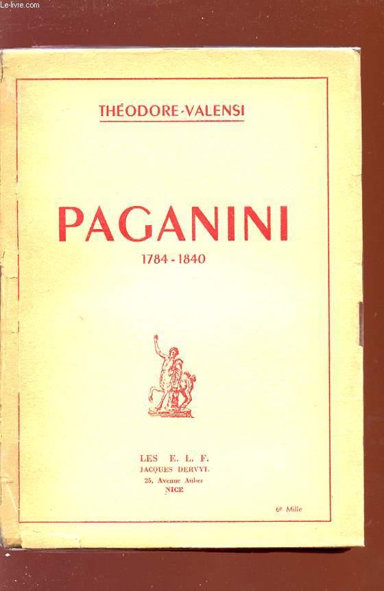PAGANINI - 1784/1840