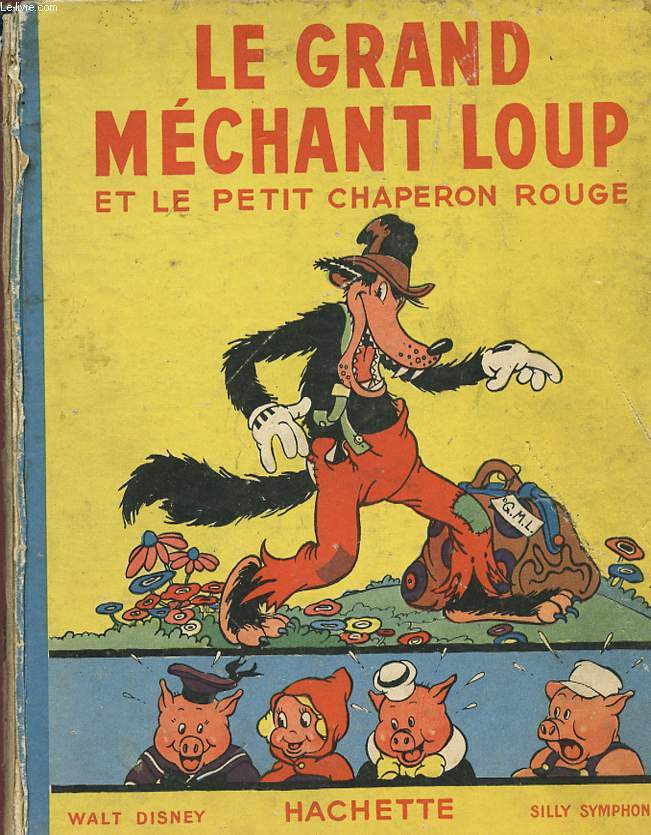 LE GRAND MECHANT LOUP ET LE PETIT CHAPERON ROUGE.