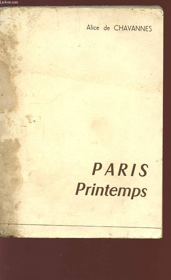 PARIS PRINTEMPS - Collection