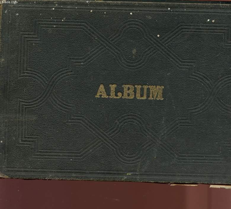 ALBUM - BOUQUET DE FLEURS A HENRIETTE BELVA.