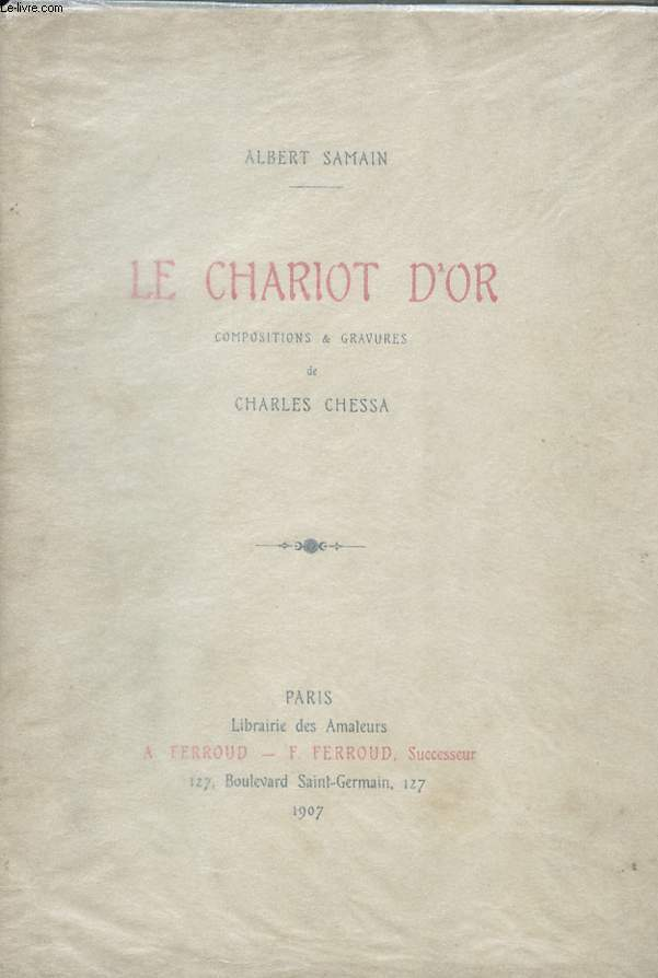 LE CHARIOT D'OR.