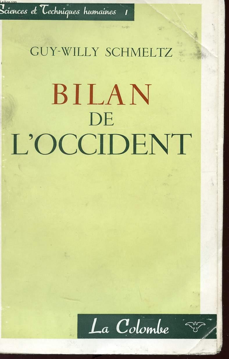 BILAN DE L'OCCIDENT - COLLECTION