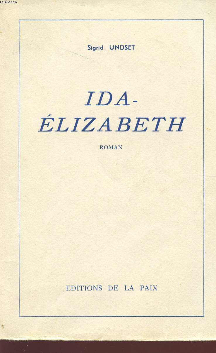 IDA-ELIZABETH.