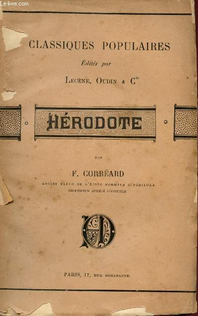 HERODOTE - COLLECTION
