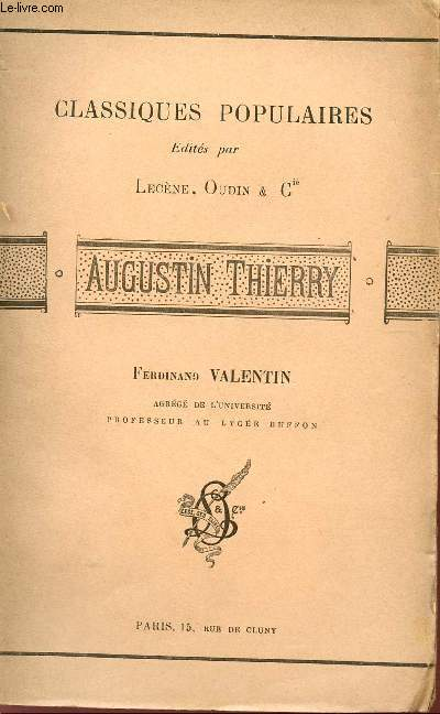 AUGUSTIN THIERRY - COLLECTION