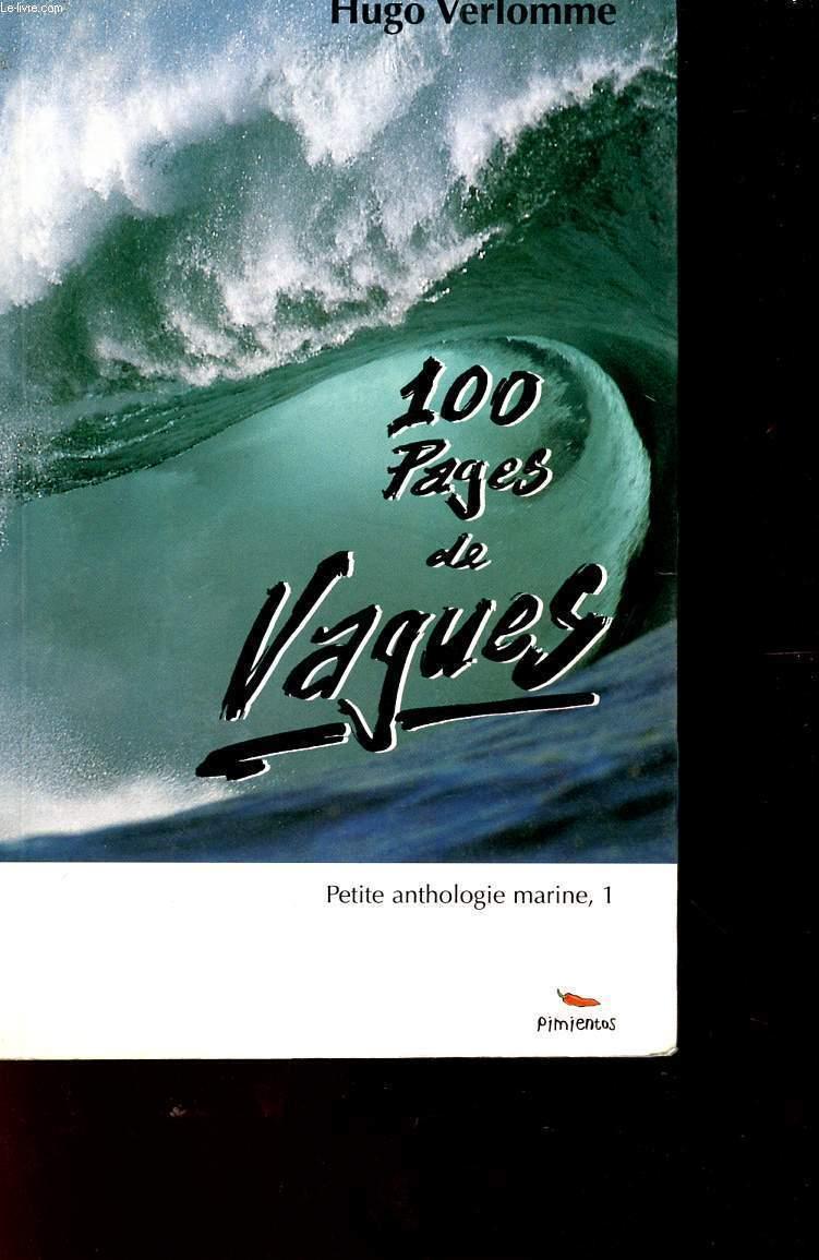 100 PAGES DE VAGUES - PETITE ANTHOLOGIE MARINE 1.