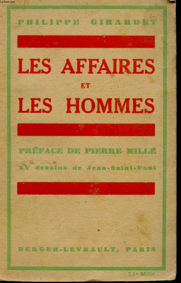 LES AFFAIRES ET LES HOMMES.