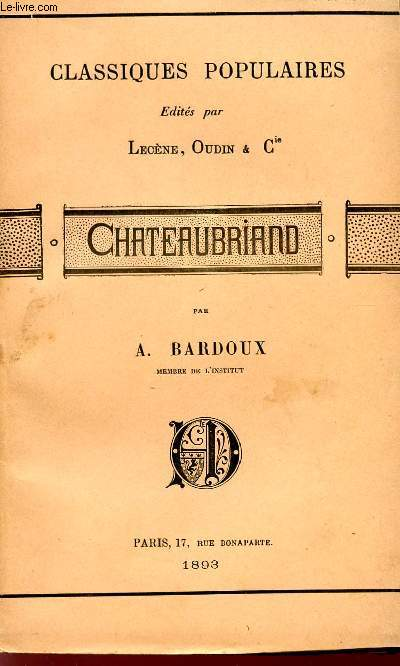 CHATEAUBRIAND - COLLECTION