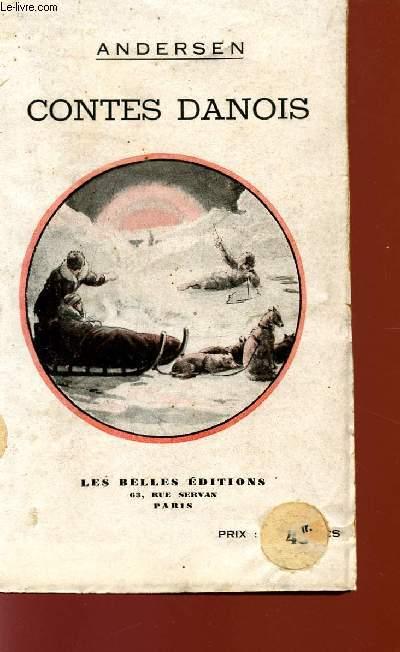 CONTES DANOIS - LA VIERGE DES GLACIERS - Ib LA PETITE CHRISTINE - ELLE SE CONDUIT MAL - UN CREVE-COEUR - UN COUPE D'AMOUREUX - UNE HISTOIRE DANS LES DUNES - CAQUETS D'ENFANTS - UNE FEUILLE DU CIEL.