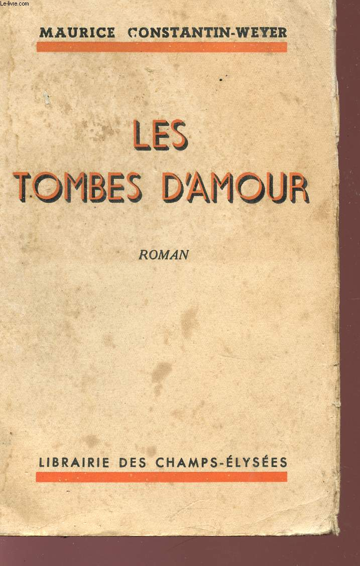 LES TOMBES D'AMOUR.