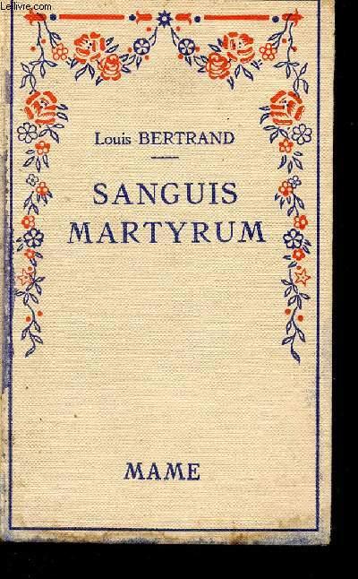 SANGUIS MARTYRUM - N°201.
