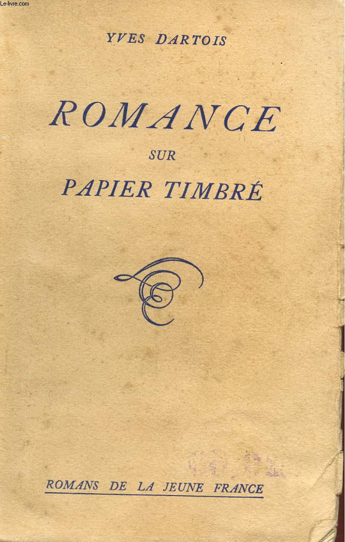 ROMANCE SUR PAPIER TIMBRE - COLLECTION