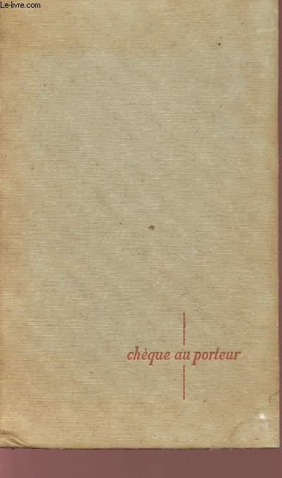 CHEQUE AU PORTEUR.