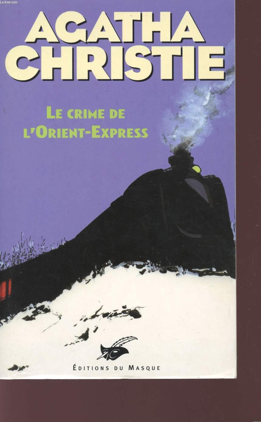 LE CRIME DE L'ORIENT-EXPRESS.