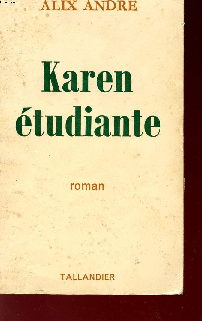 KAREN ETUDIANTE.