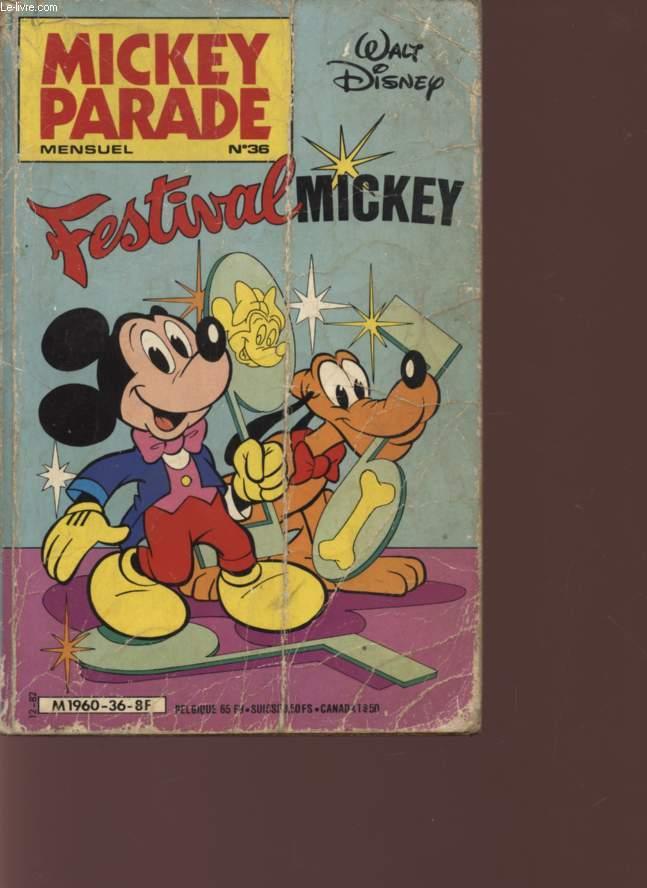 MICKEY PARADE - MENSUL N°36 - FESTIVAL MICKEY.