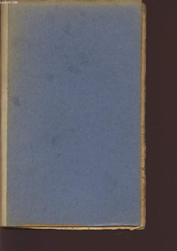 LES SOUTIENS DE LA SOCIETE (PIECE EN QUATRE ACTES) - L'UNION DES JEUNES - BIBLIOTHEQUE COSMOPOLITE N° 4.