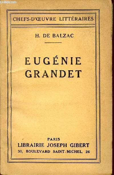 EUGENIE GRANDET / COLLECTION