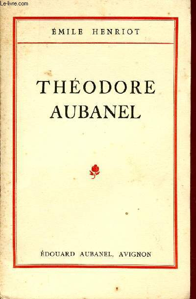 THEODORE AUBANEL..