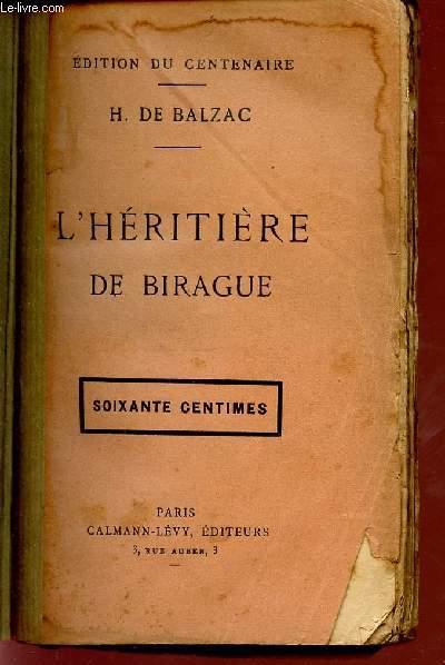 L'HERITIERE DE BIRAGE.