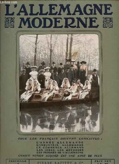 L'ALLEMAGNE MODERNE - FASCICULE N° 5.