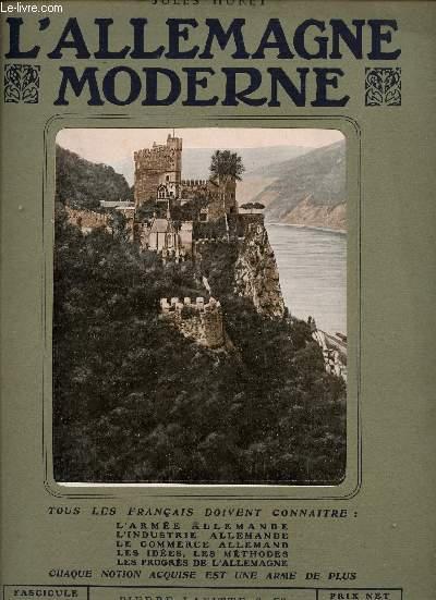 L'ALLEMAGNE MODERNE - FASCICULE N° 6.