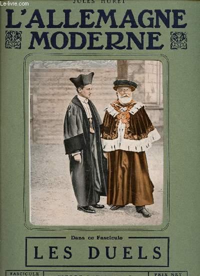 L'ALLEMAGNE MODERNE - FASCICULE N° 16 - LES DUELS.