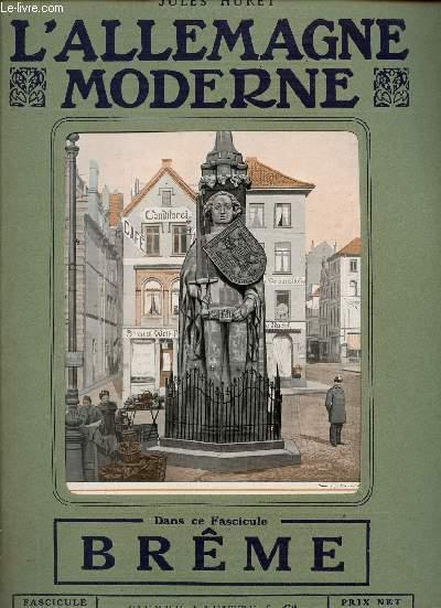 L'ALLEMAGNE MODERNE - FASCICULE N° 17 - BREME.
