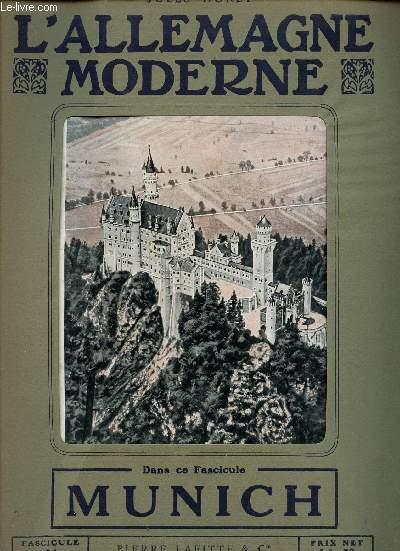 L'ALLEMAGNE MODERNE - FASCICULE N° 24 - MUNICH.