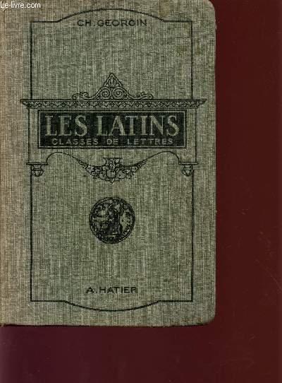 LES LATINS - PAGES PRINCIPALES DES AUTEURS DU PROGRAMME / CLASSES DE LETTRES / CLASSES DE LETTRES (3è, 2è, 1ere, PHILOSOPHIE).
