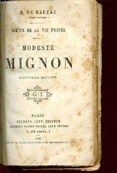 SCENES DE LA VIE PRIVEE /MODESTE MIGNON.