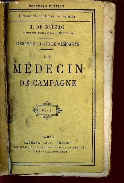 SCENES DE LA VIE DE CAMPAGNE / LEMEDECIN DE CAMPAGNE.