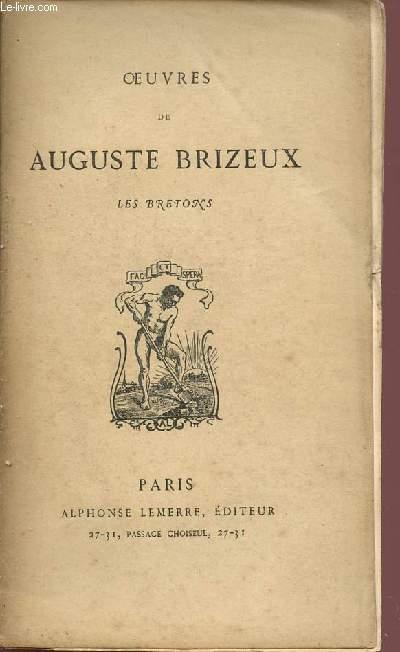OEUVRES DE AUGUSTE BRIZEUX / LE BRETONS / TOME SECOND.