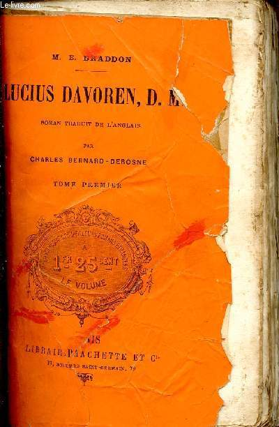 LUCIUS DAVOREN D.M. / TOME PREMIER.