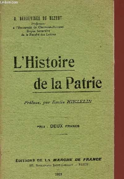 L'HISTOIRE DE LA PATRIE.